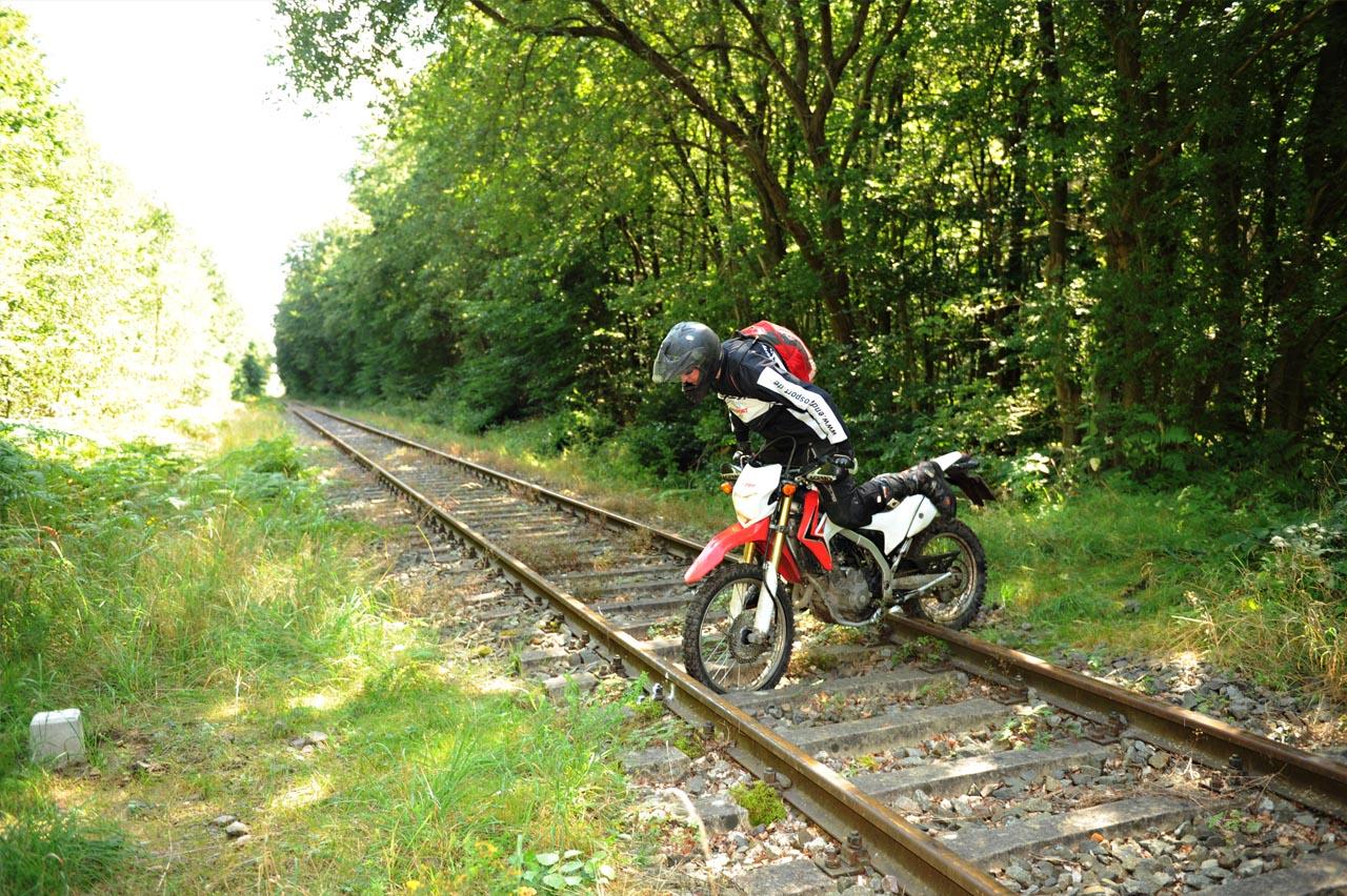 Mottorad Bahn