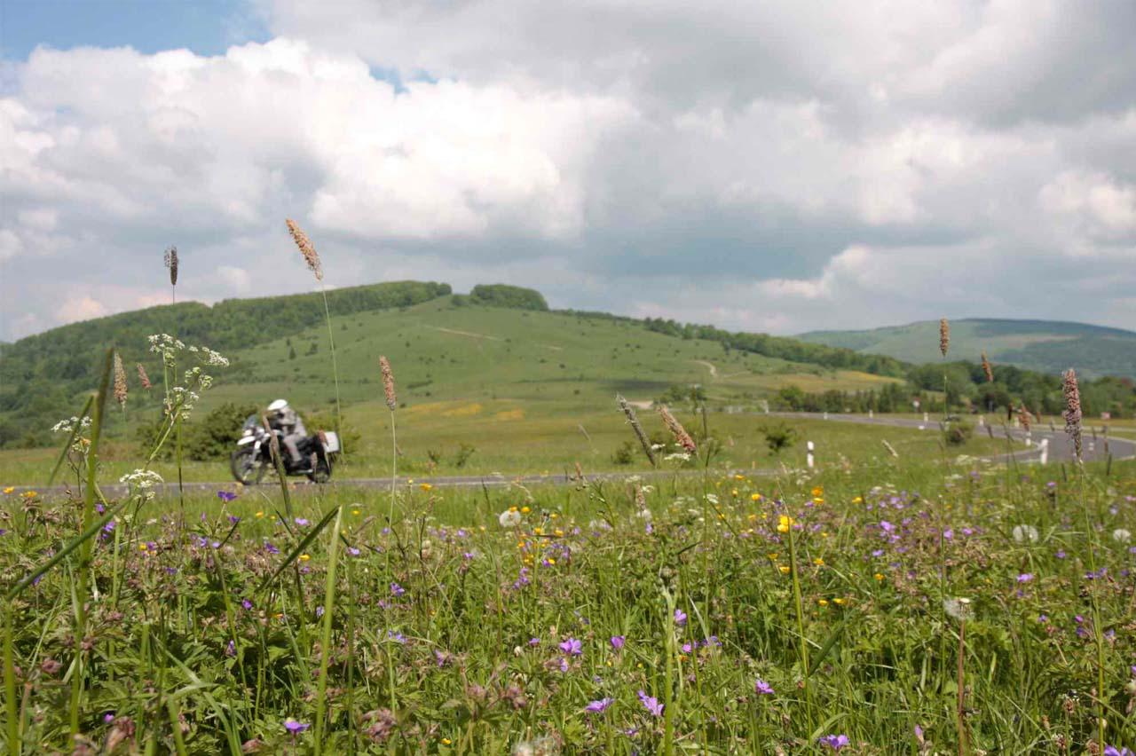 Berge Motorrad